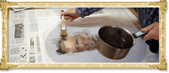 Sp cialiste en restauration de peintures paris atelier - Formation restauration meuble ...
