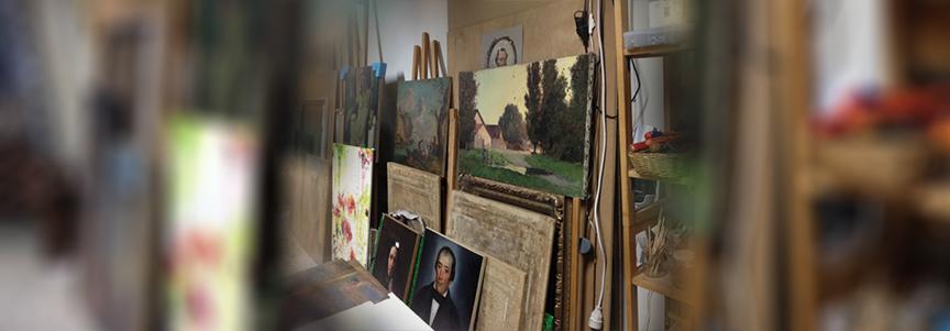 Restauration de tableaux